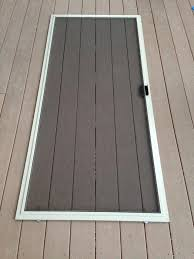 patio door with screen. Once You Reach The Last Corner Are Finished! Patio Door With Screen