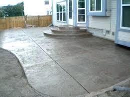 concrete slab patio. Concrete Slab For Backyard Brick Patio By T