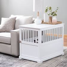 designer dog crate furniture ruffhaus luxury wooden. Furniture Pet Crate Dog Kennel White Medium End Table Wood Cage Puppy Bed Wooden ** Learn More By Visiting The Image Link. Designer Ruffhaus Luxury E