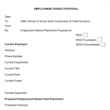 Job Proposal Samples Writing Job Proposal Examples 8 A For New