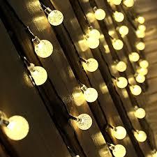 innoo tech solar outdoor string lights 197 ft
