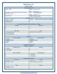 small business startup plan sample new business templates under fontanacountryinn com