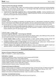 Director Engineering Resumes Resume Sample 10 Engineering Management Resume Career