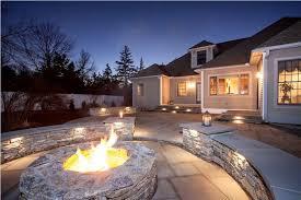 amazing new england style outdoor lighting
