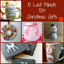 10 Last Minute DIY Christmas Gifts