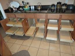 10 Photos To Kitchen Cabinet Organizers Pull Out Shelves