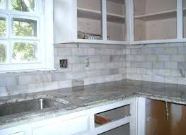 Light Gray Backsplash Gray Brick Gray Brick Tile Grey Cabinets Faux With  Engaging White Light Grey