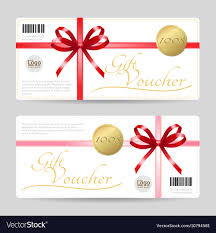 Gift Voucher Template Gift Card Or Gift Voucher Template