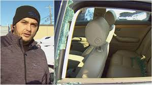 Car Window Smashed In Road Rage Incident Driver Says Cbc News