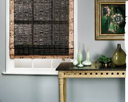 ... Black Square Modern Black Bamboo Shades Stained Ideas: Surprising black bamboo  shades ...