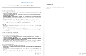 Janitorial Resume Examples Janitorial Resume Sample Splashimpressionsus 27