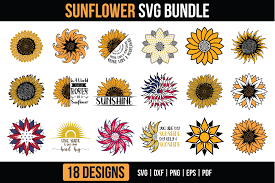 Family matching outfits svg bundle 50 designs ad. Sunflower Bundle Graphic By Craftlabsvg Creative Fabrica