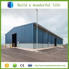 Big span car parking steel structure prefabricated building China suppliers