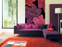 Purple Living Room Decor Purple And Red Living Room Ideas House Decor