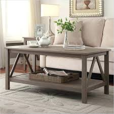 grey coffee table set titian coffee table in rustic gray grey marble coffee table set