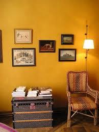 Paint Color Portfolio: Mustard Living Rooms