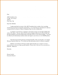 Unsolicited Proposal Template Example Of A Letter Equipped Moreover ...