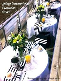 black and white striped round tablecloth black and white table runners on white tablecloths black and white striped round tablecloth