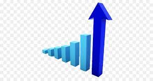Clipart Growth Chart Line Background Clipart Chart Graphics Blue Transparent