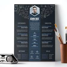 Free Cool Resume Templates Extraordinary Interesting Resume Templates Goloveco