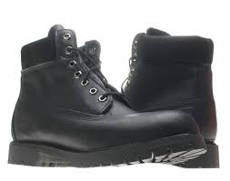 timberland 6 inch premium waterproof black leather men s boots 10054 free at nycmode