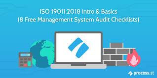 System 44 Self Monitoring Chart Iso 19011 2018 Basics 8 Free Management System Audit
