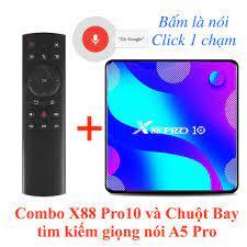 X88 Pro 10 - Android TV Box mới 2020 chạy Android 10 cực nhanh, giá rẻ,  chính hãng ENYBOX