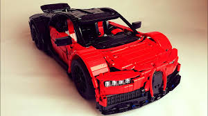 The grille and the (british) number plates are custom decals. Bugatti Chiron Lego Technic Moc Instructions Youtube