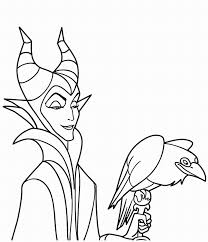 Small Picture Maleficent Coloring Pages To Download And Print For Free Coloring