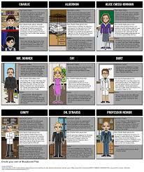 as students a storyboard can serve as a helpful character  flowers for algernon character map as students a storyboard can serve as a helpful character reference log in this activity students will create