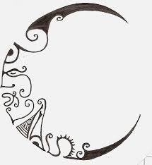 Small Picture Best 20 Moon design ideas on Pinterest Small moon tattoos Love