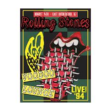 The <b>Rolling Stones</b>: <b>Voodoo</b> Lounge '94 NJ A2 Lithograph