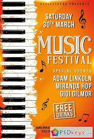 festival flyer template facebook cover rar