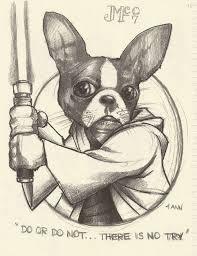 star wars lightsabers dogs drawings 2496x3232 wallpaper art hd wallpaper