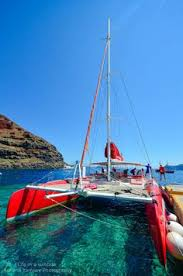 Dream Catcher Boat Santorini Dream Catcher sailing in the caldera Santorini Sailing Cruises 14
