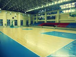 pvc rubber basketball court flooring material sports flooring