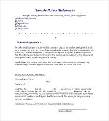 Samples Of Notary Letters Samples Of Notary Letters Rome Fontanacountryinn Com
