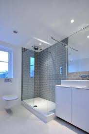 shower remodel glass tiles. Perfect Shower Gray Subway Tile Bathroom Contemporary With Grey Metro Glass Shower Regard  To Remodel 19 In Tiles E