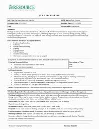Nice Baggage Handler Resume Template Ideas Entry Level Resume