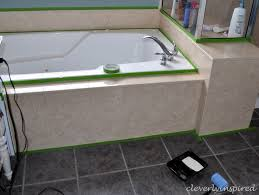 how to paint cultured marble tub surround cleverlyinspired 11