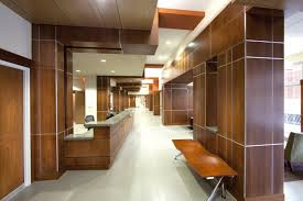 modern office ceiling. Good Recessed Ceiling Design Ideas : Modern Office Decoration With Solid Wood Wall Including