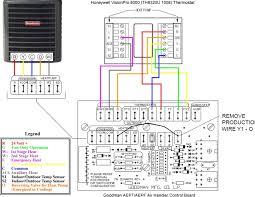 wiring diagram 5 ton goodman heat pump circuit and schematic how to connect thermostat wires to ac unit at Carrier Thermostat Wiring Diagram