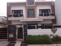 Front House Elevation Two Balcony Iron Gate Wall Design House .