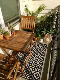 small balcony furniture. Succulents Tropical Plants Small Balcony Decor Ideas Lanterns String Lights Al Furniture