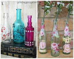 Decorate A Glass Bottle decorated bottles GoogleSuche Creative projects Pinterest 2