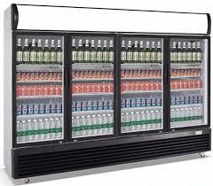 1630l upright commercial display cooler