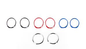 <b>SHINEKA Car</b> Styling <b>Dashboard</b> Decoration Ring Instrumet Cover ...