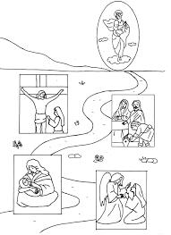 Jesus 175 Personnages Coloriages Imprimer