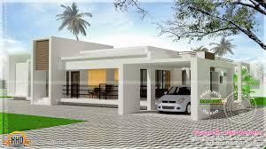 Modern Exterior House Design One Floor Single Designs Kerala Planner Home For Decorating