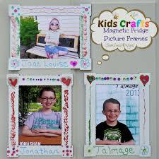 kids craft diy magnet fridge frames with bic mark it markers bicmarkit